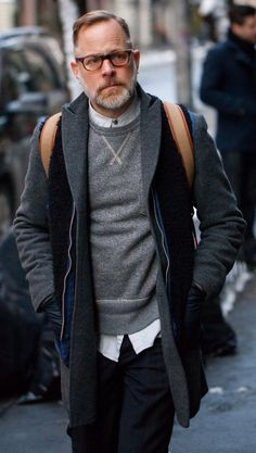 "Bruce Pask, Men's Fall Winter Street Style Fashion. i WANT to be him when I'm ""older"" 