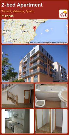 2-bed Apartment in Torrent, Valencia, Spain ►€142,600 #PropertyForSaleInSpain