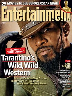 Jamie Foxx covers this week's Entertainment Weekly magazine december 2012