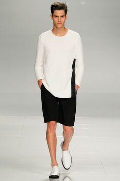 Iceberg Spring 2014 Menswear Collection Slideshow on Style.com