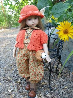 ~ROMP INTO FALL!~ by Tuula fits 13  Effner Little Darling to a  t !