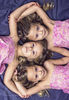 Triplets by RockwodPhoto Family Photography #InfluentialLime