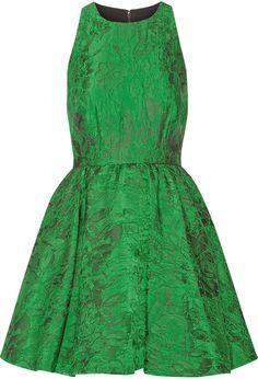 Alice + Olivia Tevin jacquard mini dress
