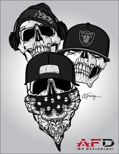 Tatt-design-peace-raiders-gris by Feeeley on DeviantArt Tatt-design-peace-raiders-gris by Feeeley on DeviantArt<br> Evil Skull Tattoo, Skull Tattoo Design, Tattoo Design Drawings, Skull Tattoos, Body Art Tattoos, Sleeve Tattoos, Gangster Tattoos, Graffiti Tattoo, Graffiti Drawing
