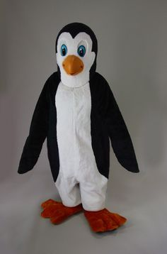 Professional Penguin mascot costume handcrafted in America. Foam and latex head for superior detail and durability. Polyfoam Line - 42057 Penguin Halloween Costume, Halloween Costumes 2014, Natural Latex, Costume Shop, Mascot Costumes, Arctic, Dinosaur Stuffed Animal, Creatures, Crutches