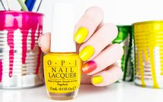 OPI Color Paints Primarily Yellow