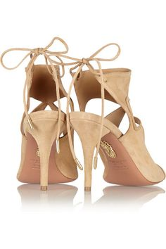 Aquazzura Sexy Thing in Beige