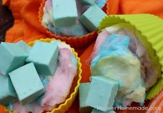 Cotton Candy Fudge. Recipe can also be used to make other flavors (like pink lemonade) just by choosing a different flavor packet. I'm going to try Orange Cream, or Peaches and Cream next.