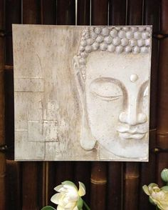 Textured Buddha Painting