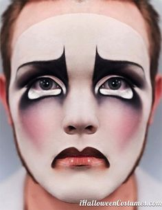 clown makeup for Halloween - Halloween Costumes 2013
