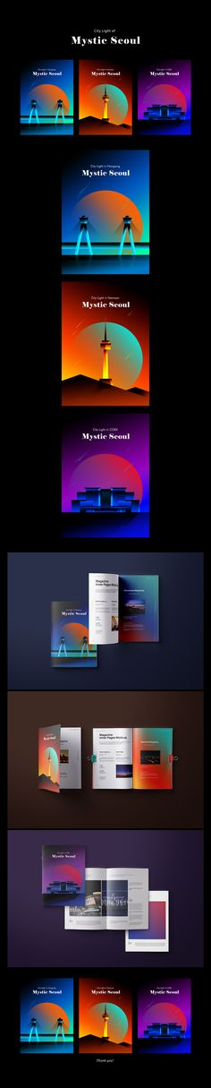 Mystic Seoul on Behance