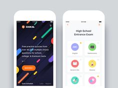 Zookal - Exam App Redesign by Nimasha Perera
