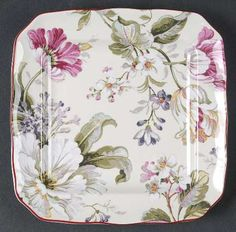222 Fifth (PTS) Gisela Square Appetizer Plate