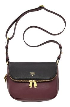 Fossil 'Preston' Colorblock Flap Crossbody Bag available at #Nordstrom