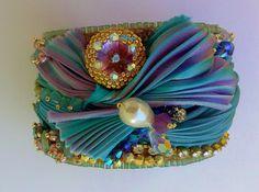 shibori cuff Il giardino sul mare Passione di Perle