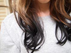 reverse balayage {my hair goal <3 it!!}