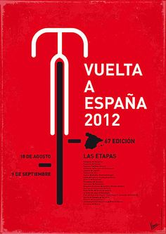 Vuelta A Espana 2012 - Bike Tour poster.