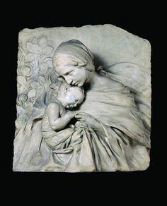 Başlık: Madonna and Child Tarih: 1918/1918 sculptor: Pietro Canonica Titolo originale: Madonna con il Bambino