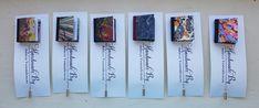 Arielle's Bindery Blog Post - miniature books (lapel pins)