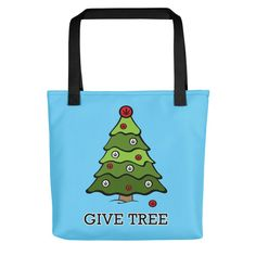 Happy Holidays - The Give Tree Tote