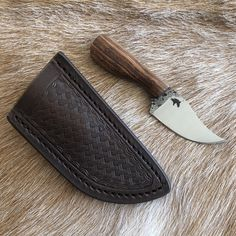 Custom Handmade Knives and Leather Goods Zombie Tools, Best Zombie, Handmade Knives, Mini, Leather