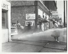 In May 1963, thousands of Birmingham school children  faced police dogs, fire hoses and possible arrest to demonstrate against segregation. Photo courtesy Birmingham Civil Rights Institute