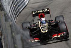 Romain Grosjean on track - Saturday - Monaco GP