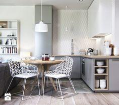 Aranżacje wnętrz - Kuchnia: aneks kuchenny - Projektownia Wnętrz. Przeglądaj, dodawaj i zapisuj najlepsze zdjęcia, pomysły i inspiracje designerskie. W bazie mamy już prawie milion fotografii!