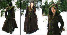 A beautiful medieval winter coat!