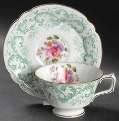 Royal Crown Derby RUTLAND Cup & Saucer S544612G3