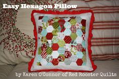 Moda Bake Shop: Easy Hexagon Pillow
