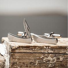 Knife Cufflinks For An Edgy Look