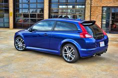 Volvo C30 T5 R-Design  as soon as our eyes met I knew we would be together for a long time.  Love my lil Volvo