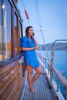 Call the home front and tell them everything is better than good 😄  > Wifi on board Sailing Cruises, Classic Yachts, Wifi, Summer Dresses, Chic, Board, Fashion, Summer Sundresses, Shabby Chic