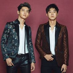 Every KPOP fan knows who TVXQ is. New generation idols look up to them as inspirations so they can become successful too. And, every Cassiopeia [. Tvxq Changmin, Jung Yunho, Kpop, Fandom, Gwangju, Jaejoong, Celebrity Look, Asian Men, Asian Guys