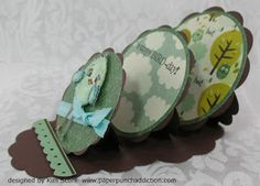 I have made a single Easel Card before, but not tried Tutorial is on Paper Punch Addiction: Triple Easel Tutorial Fun Fold Cards, Pop Up Cards, Folded Cards, Diy Cards, Handmade Cards, Card Making Tutorials, Making Ideas, Copic, Diy Arts And Crafts