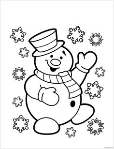 Image Result For Christmas Coloring Pictures Art Work Pinterest