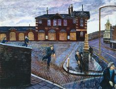 """Carel Weight, """"Clapham Junction,"""" 1978. (© The estate of Carel Weight)"""