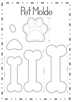 Kitty paw pencil tip (Pet molds) - Patchwork/nähen - Bolo Paw Patrol Cake, Paw Patrol Party, Paw Patrol Birthday, Dog Birthday, Dog Crafts, Felt Crafts, Puppy Party, Creation Couture, Felt Patterns