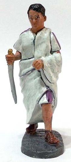 """Marco Giunio Bruto, dei """"Liberatori"""", numero 95 della collezione """"Roma e i suoi nemici"""" (2011 Vadis) #Miniatures #Figures #AncientRome #OspreyPublishing #Brutus"""