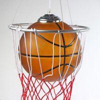 Basketball Chandelier Glass Pendant Lamp Kid's Bedroom Ceiling Lighting Fixture