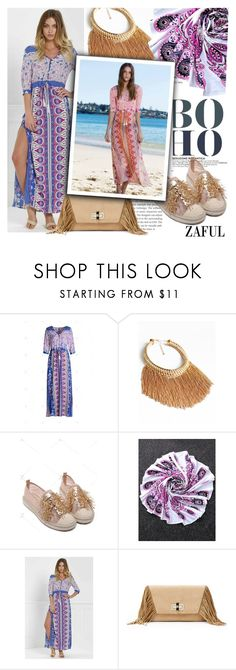 """""""Boho love forever"""" by ansev ❤ liked on Polyvore featuring Diane Von Furstenberg and zaful"""