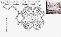 Tecendo Artes em Crochet: Barradinhos com Gráficos