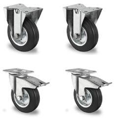 Elegant x Lenkrolle mit Metallfelge Transportrolle Schwerlastrolle M belrolle mm Lenkrollen Pinterest