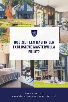 Wil jij genieten van een luxe en onbezorgd verblijf op Dormio Resort Maastricht? In de villawijk van Dormio Resort Maastricht vind je de nieuwe exclusieve Mastervilla's, hier geniet je van veel luxe, comfort in een prachtige groene omgeving. Bregje van Dokkum verbleef een week met het hele gezin in een Hertogenvilla Wellness. Wij hebben gevraagd of zij een dag in een Mastervilla wil beschrijven zodat wij met haar mee kunnen genieten. Ben jij klaar voor haar ervaring? Lees dan snel haar… Resorts, Wellness, Vacation Resorts, Beach Resorts, Vacation Places