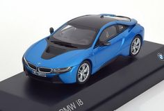 BMW 4 Series Gran Coupe Blue official dealer model scale 1:43 new car gift