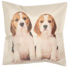 Textil párnahuzat 43x43cm Textiles, Dogs, Animals, Animales, Animaux, Pet Dogs, Doggies, Animal, Fabrics