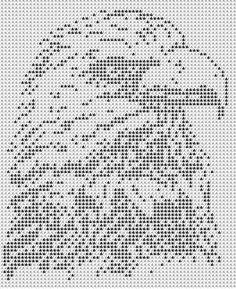 Graph Crochet, Filet Crochet Charts, C2c Crochet, Crochet Cross, Tapestry Crochet, Knitting Charts, Thread Crochet, Cross Stitch Bird, Cross Stitch Animals