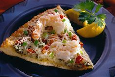 Shrimp Pesto Pizza Recipe   Sargento®