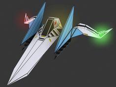 3D Model Of Arwing Star Fox - 3D Model